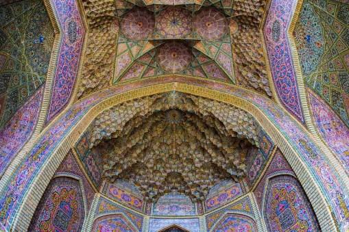 Nasirolmolk Mosque - Shiraz - Iran - Silk Road Travel - A Central Asia Overland Trip - A World to Travel