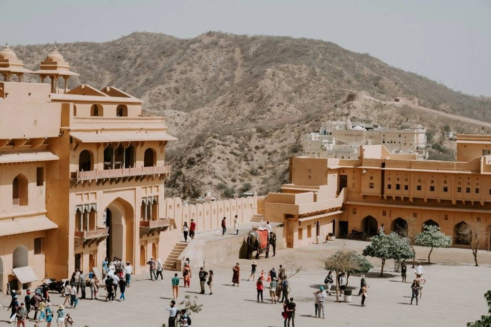 Amber Palace inside - Fun Budget Things To Do In Jaipur - A Budget Guide To The City - A World to Travel