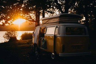 Sunset van - Fun Things To Do In Scotland - A World to Travel