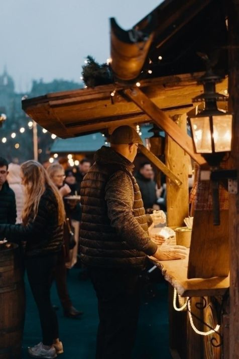 Christmas Market Edinburgh - UK - Best Winter Destinations In Europe - A World to Travel