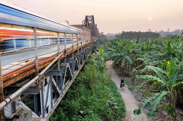 Hanoi train - Best Places For Trekking And Hiking In Vietnam - A World to Travel