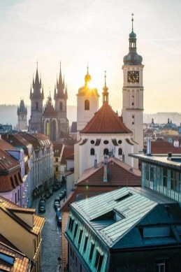 Prague - Best Winter Destinations In Europe - A World to Travel