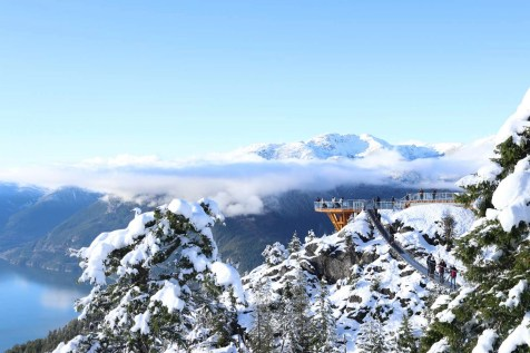 Sea to Sky gondola - Squamish BC - Things to do in British Columbia - A World to Travel