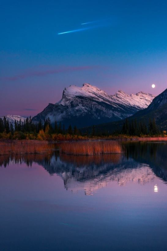 Vermillion Lakes Viewpoint - Banff Travel Guide - A World to Travel