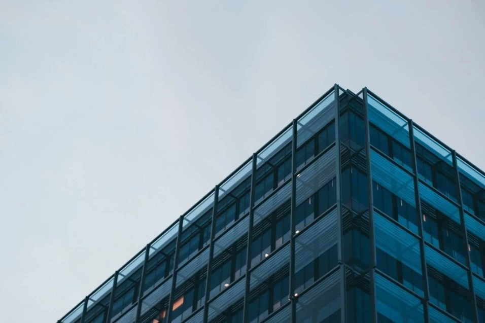 Glass façade building in Washington DC