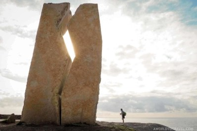 End of the Finisterre Muxia way - A World to Travel