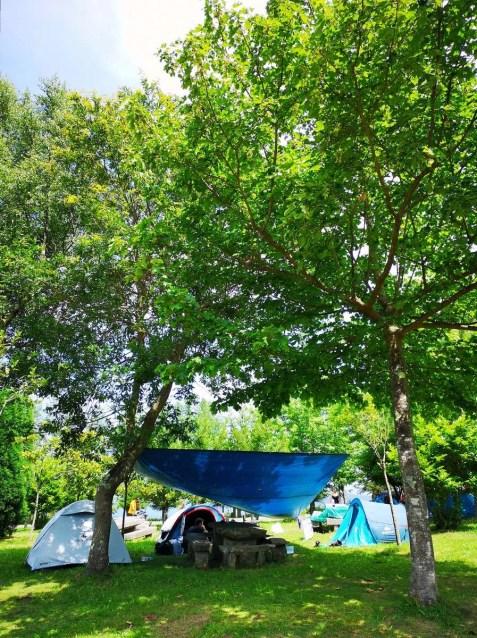 Camping area B - San Roque Viveiro