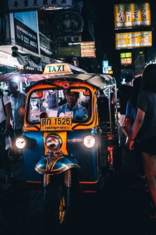 Tuk tuk ride in Bangkok - Thailand Things to Know Before Going - A World to Travel