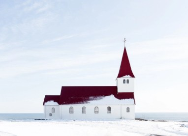 Vik church - Iceland classic route