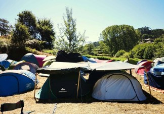 Camping area (2) - Vodafone Paredes de Coura music festival 2019 - A World to Travel