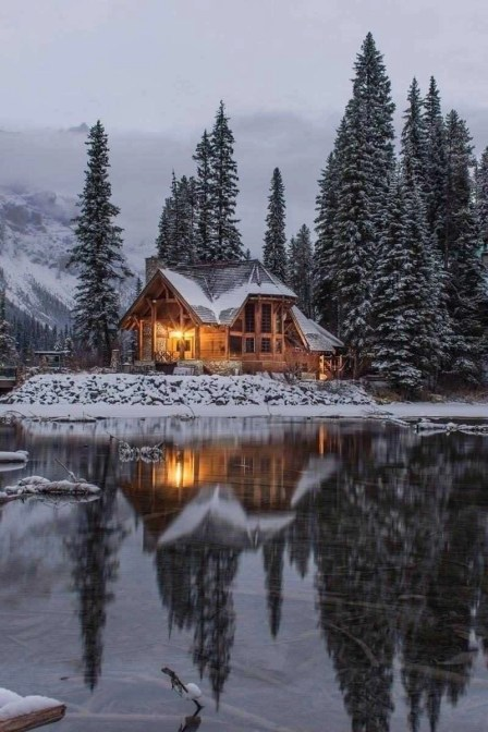 Emerald Lake - Winter in Canada - A World to Travel