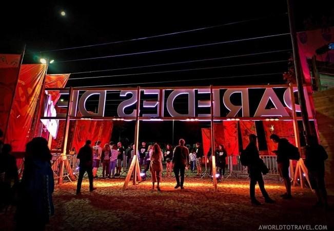 Festival grounds (1) - Vodafone Paredes de Coura music festival 2019 - A World to Travel