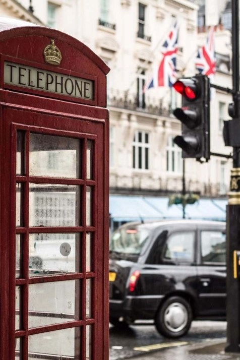 London iconic telephone booths - The Orient Express Rail Route - A World to Travel