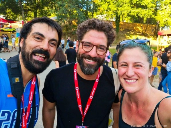 Nuno Lopes fans - Vodafone Paredes de Coura music festival 2019 - A World to Travel