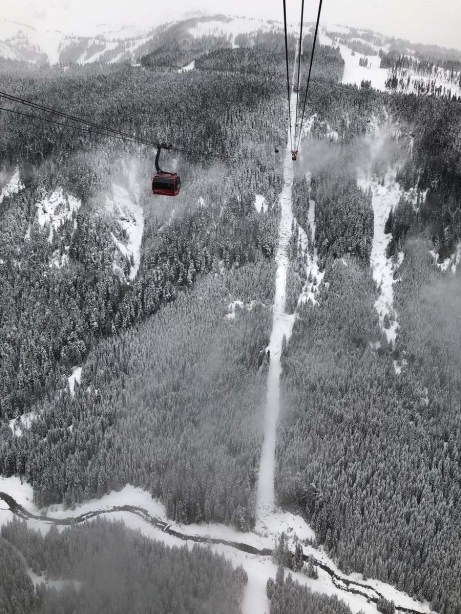Peak 2 Peak Gondola Whistler Blackcomb - Things to do in British Columbia Canada - A World to Travel