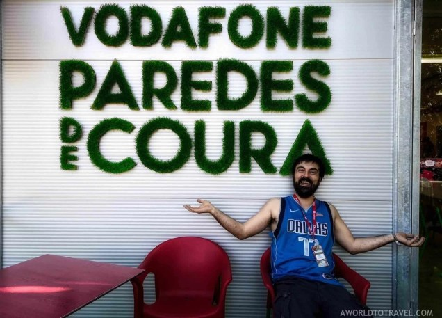 Press area - Vodafone Paredes de Coura music festival 2019 - A World to Travel