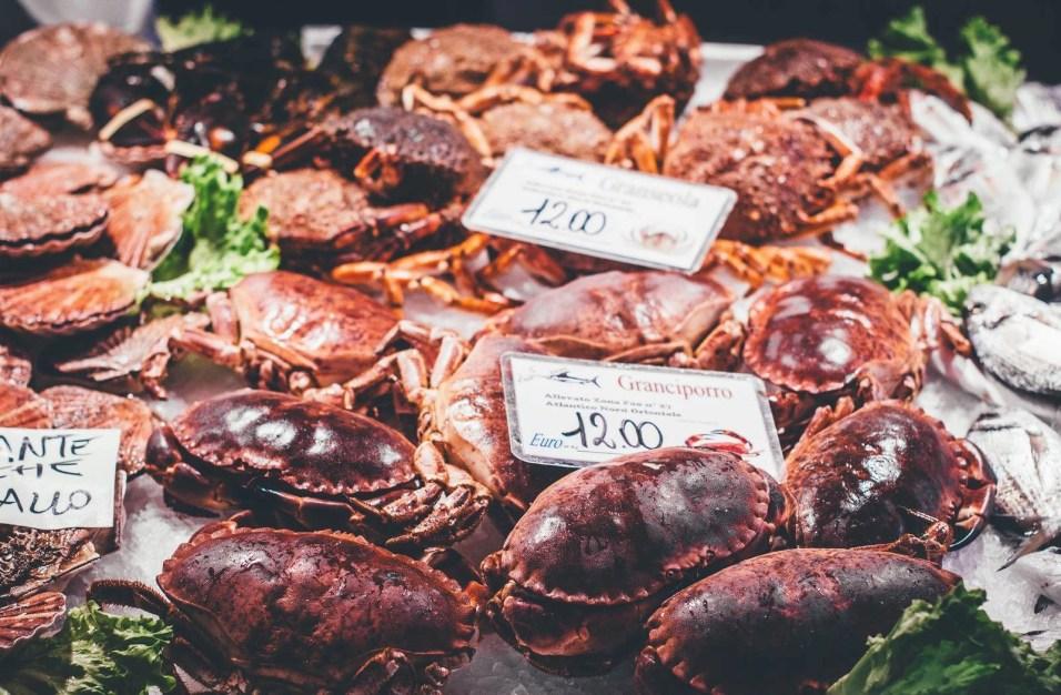 Seafood in Venice - Veneto delicacies - A World to Travel