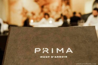 Prima Mont D'Arbois restaurant in Megeve France - A World to Travel (7)