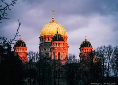 Riga urban scenes at sunset - Latvia in Autumn - A World to Travel (2)