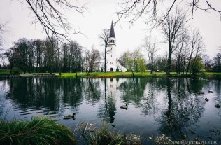 Sigulda church and lake - Best places to visit in Latvia - A World to Travel