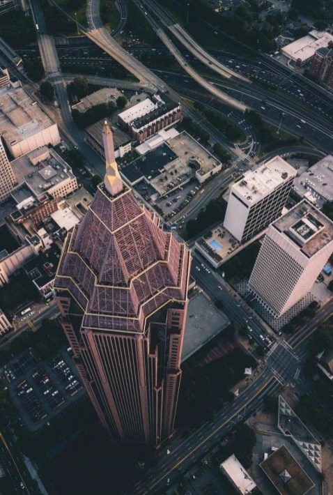 Bank of America - Atlanta tower - GA landmarks