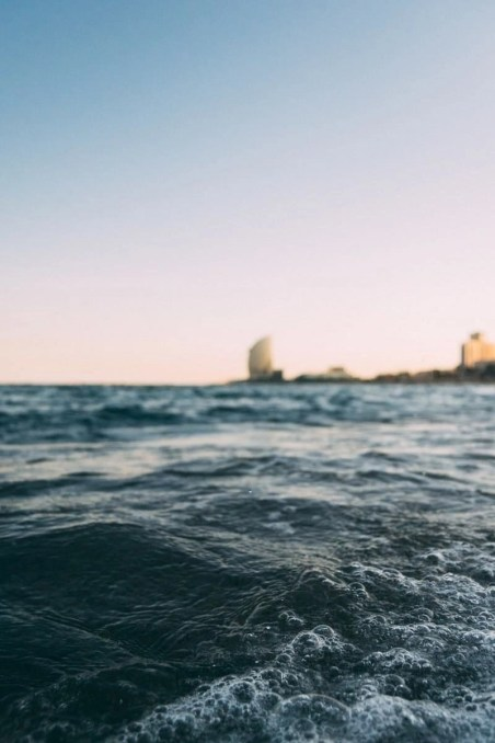 Barcelona beachfront