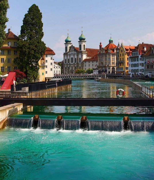 Lucerne city centre - Switzerland
