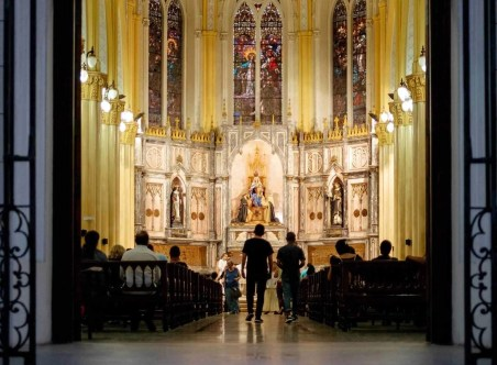 Church in La Havana, Cuba
