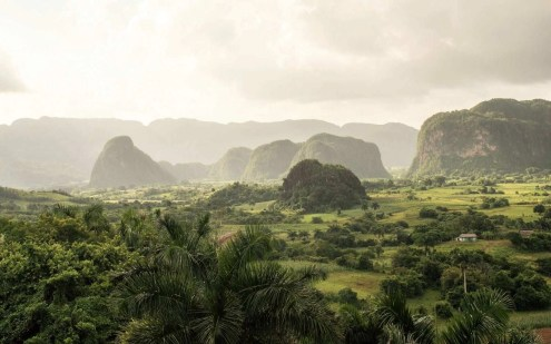 Viñales under a dramatic sky - Top Cuban tourist destinations