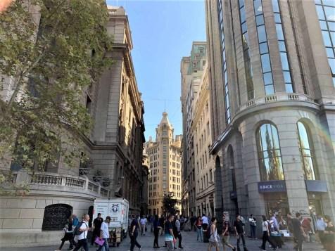 8 Historic Downtown La Bolsa - A Solo Traveler's Guide to 3 Days in Santiago Chile