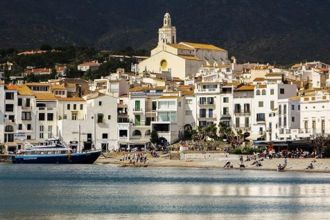 Cadaques from afar - best towns in costa brava