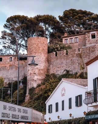 Tossa de Mar buildings