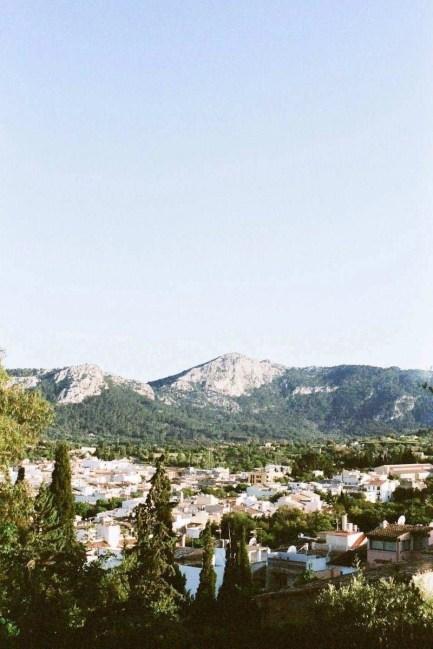 Mediterranean landscape - Valldemossa, Mallorca, Balearic Islands, Spain