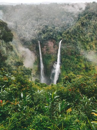 Tad Fane is considered one of the top waterfalls to visit in the Bolaven Plateau