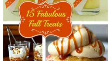 15 Fall Treats