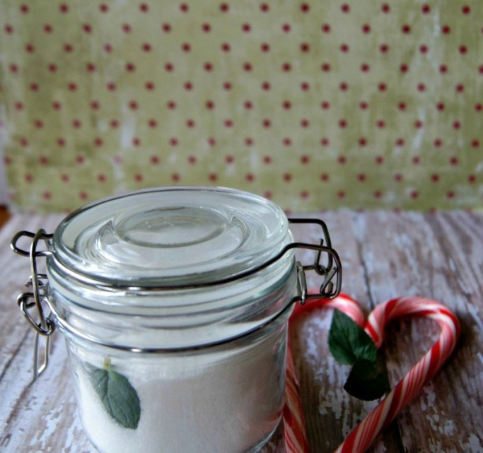 DIY: Peppermint Flavored Sugar
