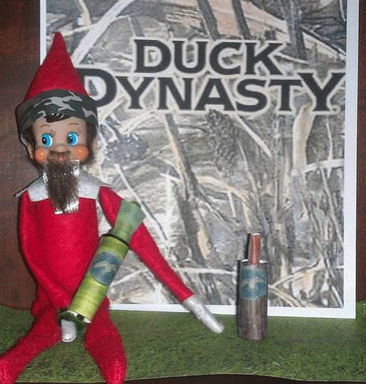 Elf on the Shelf Duck Dynasty