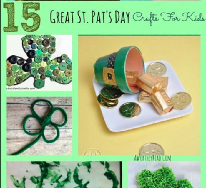 st patricks ideas, st patricks, crafts for kids, easy crafts for kids