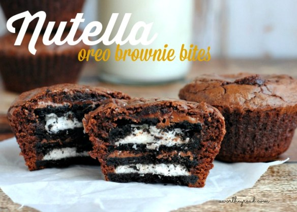 NutellaOreoBrownie recipe