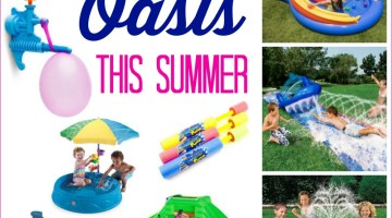 Ways to create a backyard Oasis