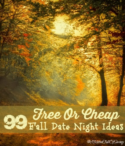 99 Free Or Cheap Fall Date Nights