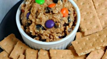 Halloween Monster Cookie Dip