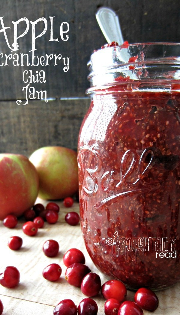 Apple Cranberry Chia Seed Jam 2
