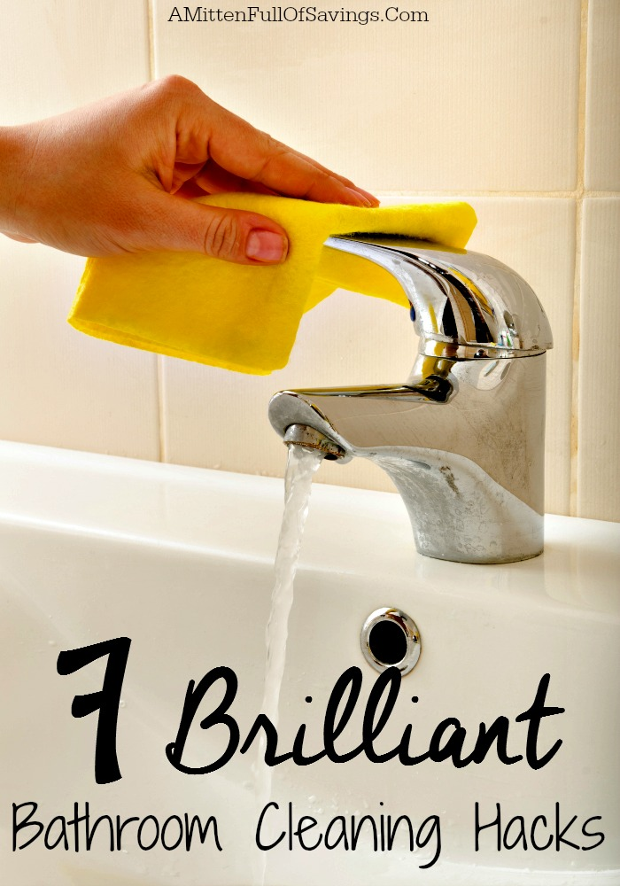 7 brilliant bathroom cleaning hacks - this worthey life