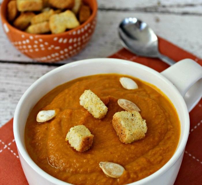 Easy Spicy Pumpkin Soup