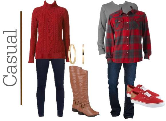 Valentine's Day Date Night Outfit Ideas {for him & her}