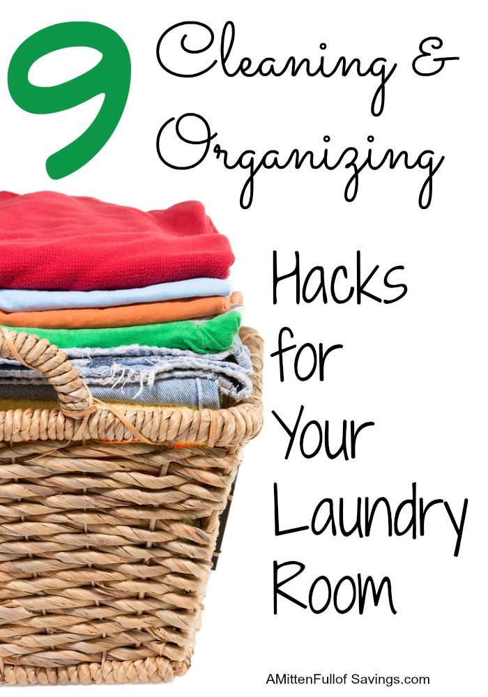 9 Cleaning and organization hacks for your laundry room