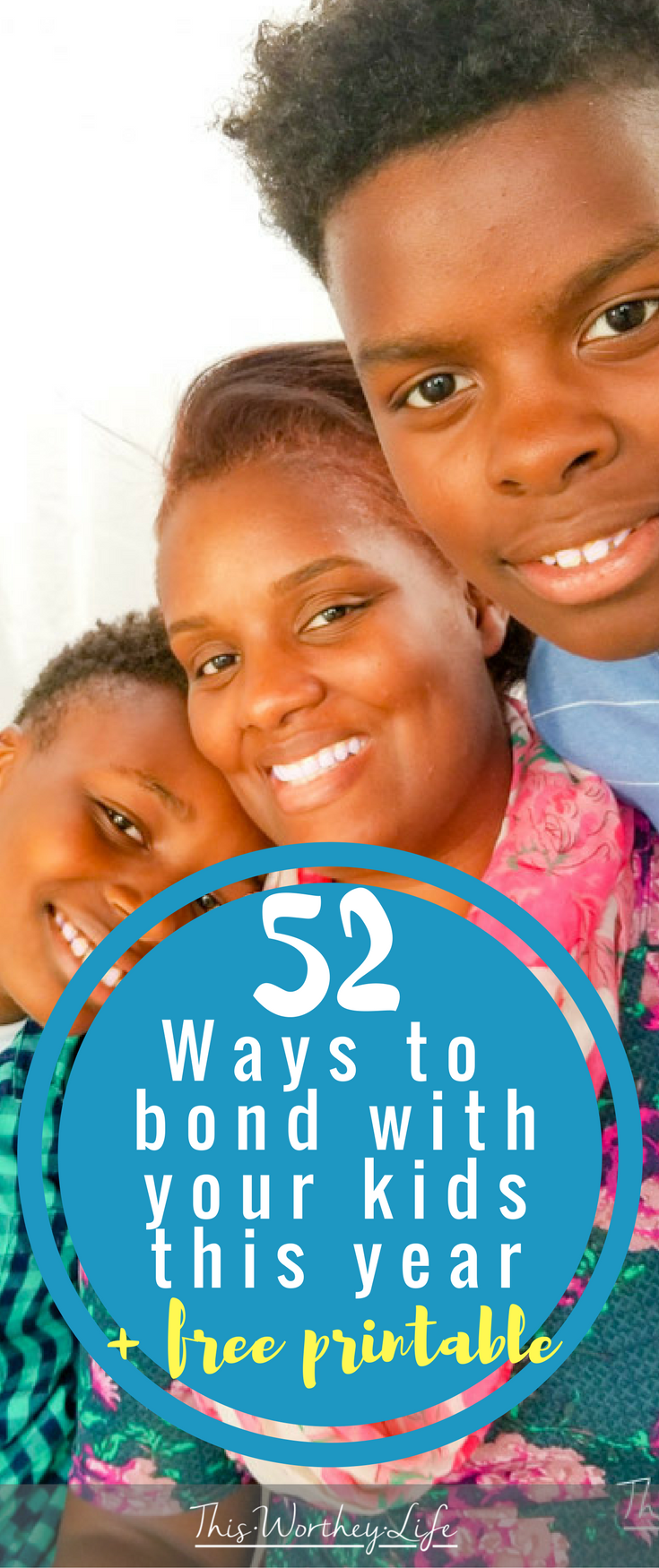 It's a new year, and a new way to start fresh with your kids. We've put together a list of 52 ways to bond with your kids this year you can check out on the blog. Get ideas on how to bond with your teens as well!