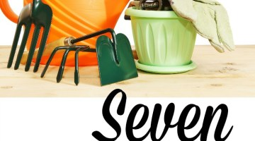 It's almost Spring. It's time to get your hands into some dirt and these free resources will help you- 7 FREE Garden Resources