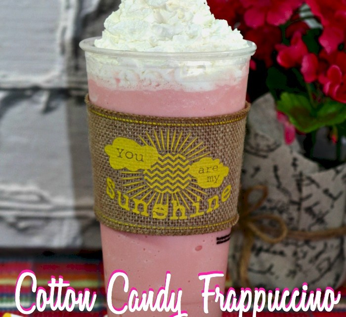 Copycat Starbucks Cotton Candy Frappuccino